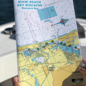 Miami Beach, Key Biscayne and Biscayne Bay Nautical Charts