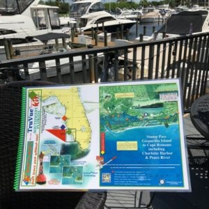 Truvue Southwest Florida Nautical Chart Kit - Stump Pass, Gasparilla Island to Cape Romano Including Charlotte Harbor and Peace River